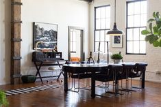 10 Vintage outstanding dining rooms | Vintage Industrial Style