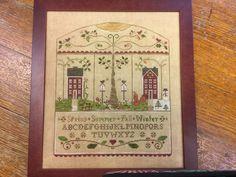 Little House Needleworks, Spring Summer, Cover, Frame, Home Decor, Art, Picture Frame, Art Background, Decoration Home