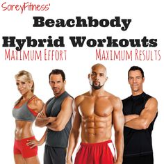 I am sharing all of myBeachbodyhybrid workouts. Need a program?Click here to Shop! Need a Coach?Add me as your free coachfor daily accountability, year-round support, monthly challenges, and m...