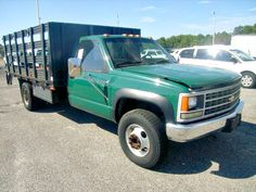 1995 GM Chevrolet 3500 Stake Body Truck coming up for auction on GovLiquidation!