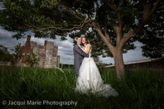 Bride and groom at Titchfield Abbey, photographed by Hampshire wedding photographers Jacqui Marie Photography. VISIT http://jacqui-marie-photography.co.uk for details.  #wedding #photography #weddingphotography #Hampshire #England #uk