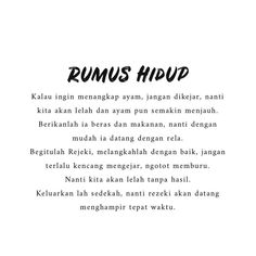 Hiduplah dengan Beradab / Beretika..... Self Quotes, Words Quotes, Life Quotes, Story Quotes, Daily Quotes, Reminder Quotes, Self Reminder, Muslim Quotes, Religious Quotes