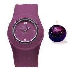 Purple Slap Watch