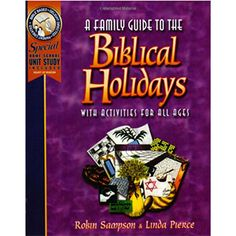 Learn the teaching method God uses to teach His children. The ultimate hands-on Bible lessons! Teach your children the way God instructed the Hebrews to teach their children –with annual events telling the story of His people and the coming of Jesus.