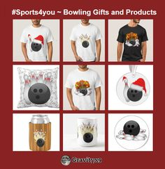 #Sports4you ~ Bowling Gifts and Products from Zazzle! Here is just a sample of the products available at Zazzle. Gifts and products for Bowlers and Bowling Fans!