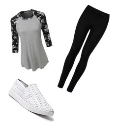 """""""Andrés look"""" by andyytorress on Polyvore featuring LE3NO, Wolford and Steve Madden"""