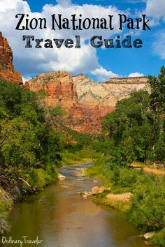 This must-read Zion National Park hiking guide covers the best hikes in Zion, where to stay inside and outside of the park, and how to plan your trip! #zionnationalpark #zion #zionhiking #utahhiking