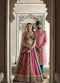 Exclusive Heavy Designer Beautiful Multi Color Bridal Lehenga Choli - Stylizone