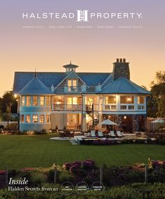 May 8th Release Date of the Spring/Summer 2015 Halstead Portfolio Magazine - Connecticut Edition. This Westport home is located on the Long Island Sound and has access to its own private beach. See it all at www.halstead.com/99096914 #Connecticut #FairfieldCounty #Westport #waterfront #Portfolio #MagazineCovers