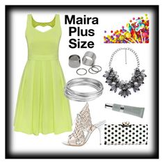 """""""Mairas Party Look"""" by mairaplussize ❤ liked on Polyvore"""