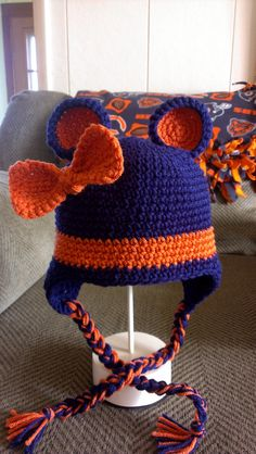 Made to Order Girl's/Women's Chicago Bears Hat by MaryVaryCrafty, $40.00