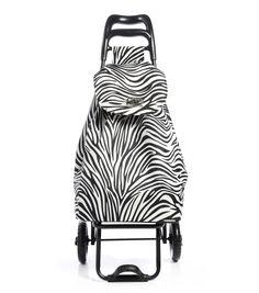epic CityXshopper Ergo Shopping Trolley Zebra