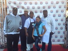 Our miss Orlando Belleza Latina at the Flavors of the NFL event...