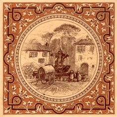 Minton China Works Tile