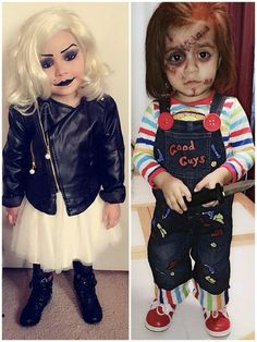 We deeply hope these 50 Spooky And Cutest Halloween Kids Customs And Makeups Make Your Kids Famous be your favorite choice. ♥♡ You may also find more than 10000 Halloween makeup, Halloween customs inspirational idea here. Toddler Chucky Costume, Chucky Costume For Kids, Bride Of Chucky Costume, Baby Halloween Costumes For Boys, Chucky And Tiffany Costume, Baby Girl Halloween, Baby Boy Halloween, Cute Halloween, Halloween Makeup