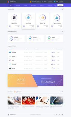 Dribbble - by Todor Bonev Learn Web Design, Graphisches Design, Web Ui Design, Data Dashboard, Dashboard Interface, Interface Design, Design Thinking, Dashboard Design Template, Website Design Layout