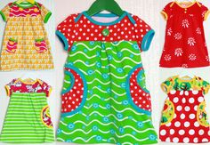 NO PATTERN BUT BEAUTIFULLY BRIGHT. PikkuHoo: Candy Colors summer :)