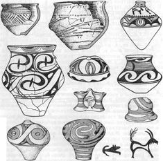 Stone Age, Gourds, Prehistoric, Ceramic Art, Archaeology, Art History, Concept Art, Doodles, Europe