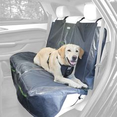 Kurgo Waterproof Allagash Car Bench Seat Cover for Dogs, Grey - Lifetime Warranty >>> Read more at the image link.
