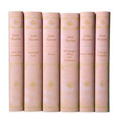 Jane Austen in Misty Rose.