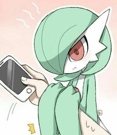 Always spend time with your gardevoir or else she might possibly break her phone by Trina Chan Sexy Pokemon, Pokemon Team, Pokemon Fan Art, Pokemon Funny, Pokemon Stuff, Anime Demon, Manga Anime, Anime Art, Pokemon Comics