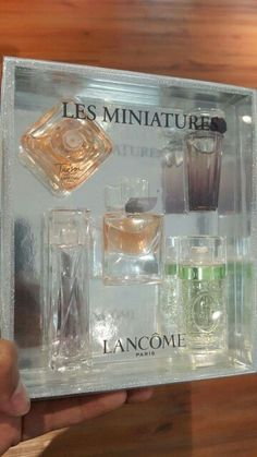 NEW STOCK OF LANCOME MINIATURE SET  LES MINIATURE LANCOME La Vie Est Belle 4ml edp Tresor 7.5ml edp Hypnose 5ml edp Tresor Midnight Rose 5ml edp O de Lancome 7.5ml edt RM200