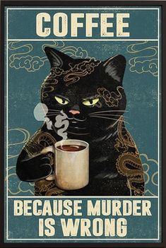 Cute Cats, Funny Cats, Funny Animals, Cute Animals, Crazy Cat Lady, Crazy Cats, Funny Memes, Hilarious, Black Cat Art