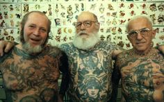 Who says you'll look silly as an old person with tattoos? How about you'll look RAD AS FUCK.