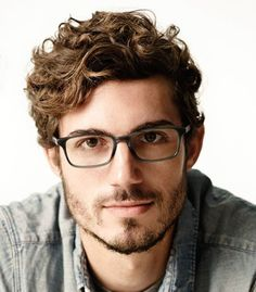 Image result for men's short curly hair styles