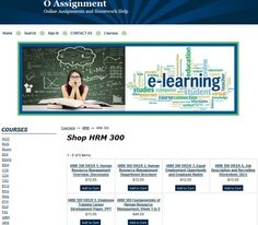 HRM 300 Fundamentals of Human Resource Management, Week 1 to 5