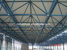 Industrial work shop steel space frame building Romania