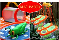 Really been thinking about have a bug party for Taryn's 1st bday. Some cute ideas