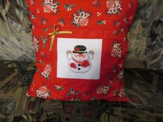 Christmas time ! Christmas Time, Cross Stitch, Throw Pillows, Crossstitch, Toss Pillows, Cushions, Punto Croce, Decor Pillows, Cross Stitches