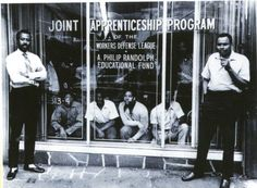 At the 1952 International Convention, delegates recognized the need to supply skilled workers in an era of manpower shortages and established local labor-management Joint Apprenticeship Training Programs (JATCs). Such programs, like the one in this image of a program sponsored by the A. Phillip Randolph Educational Fund, sought to bring young workers into the BAC crafts with top-notch training.