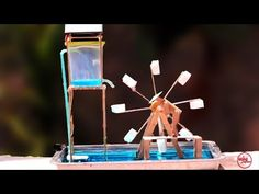 Mobiles, Youtube, Arts And Crafts, How To Make, Diy, Ideas, Water Wheels, Gatos, Bottles