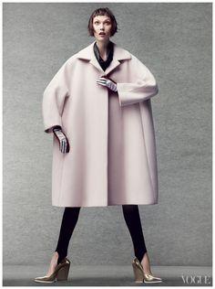 Photographed by Craig McDean, Vogue, October 2012 | Model: Karlie Kloss