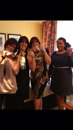 25th April 2014 My 48th with My sisters.  ( They took me to see Dream Boys)