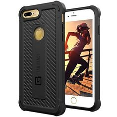 iPhone 7 Plus Case Hard Military Slim Armor lightweight Protect Covers Black #GearBeast