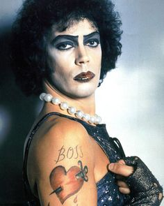 Tim Curry first starred in the live production of The Rocky Horror Picture Show in but it was his performance as Dr. Frank-N-Furter in the 1975 film version that propelled his career. Rocky Horror Show, Tim Curry Rocky Horror, The Rocky Horror Picture Show, Fandoms, Show Photos, Horror Art, Just In Case, Artwork, Poster