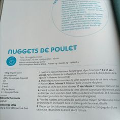 Nuggets de poulet  Thermomix