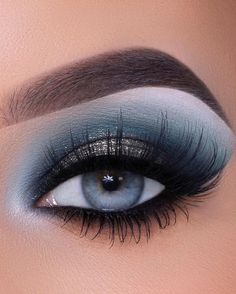 Makeup Eye Looks, Beautiful Eye Makeup, Cute Makeup, Eyeshadow Looks, Diy Makeup, Eyeshadow Makeup, Makeup Art, Makeup Tips, Beauty Makeup