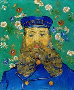 Portrait of Postman Joseph Roulin by Vincent van Gogh
