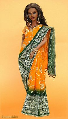 Isha Riveting Premier with Sari by Pumuckito, via Flickr