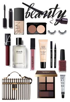 """#travelbeauty"" by itsmeambra ❤ liked on Polyvore featuring beauty, Henri Bendel, Chanel, NARS Cosmetics, Bobbi Brown Cosmetics, Kester Black, Smashbox, Guerlain and travelbeauty"