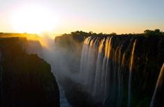 aerial photo of Victoria falls Victoria Falls aerial photo Sunset Victoria famous Place Beautiful Places In The World, Beautiful Places To Visit, Places Around The World, Around The Worlds, Beautiful Scenery, Beautiful Landscapes, Zimbabwe, Kyoto, Laos