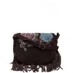 Tracolla Desigual con patta e frange Antedots 67X50B0 - Scalia Group #desigual #borse #donna #handbags #color #winder #fallwinter #women