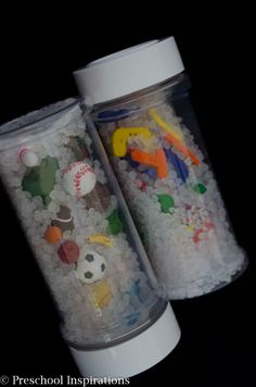 How to Make a Perfect Sensory Bottle by Preschool Inspirations