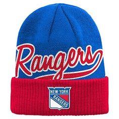 cf1b6bfdbb1 Reebok NHL New York Rangers Boys 8-20 Basic Cuffed Knit Hat