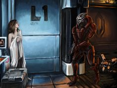 Find images and videos about mass effect and nihlus on We Heart It - the app to get lost in what you love. Mass Effect Garrus, Mass Effect Art, Mass Effect Universe, Future Weapons, My Favorite Image, Dragon Age, Game Art, Deviantart, My Photos