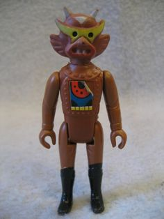 Tomland-Starroid-Raiders-ATON-action-figure-Space-Fighters-toy-Calfax-alien-1978